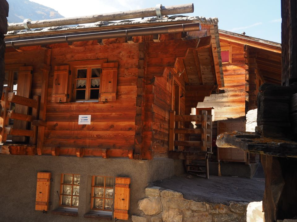 Vente Chalet Authentique Evolène