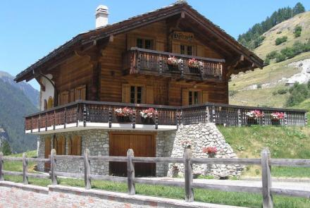 Location Chalet Evolène Valais